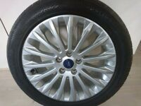 FORD ALLOY WHEEL.TYRE