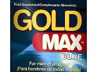 GOLDMAX 450mg Male Food Supplement. *MAXIMUM STRENGTH*