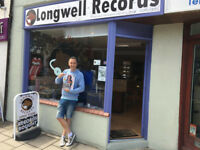 INDEPENDENT RECORD SHOP OPEN IN KEYNSHAM @longwellrecords