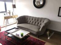 John Lewis Hayworth sofa large in grey