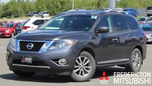 2014 Nissan Pathfinder SL! AWD! 7-SEATER! LEATHER! NAV!