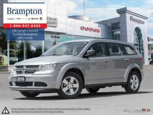 2016 Dodge Journey SE PLUS | TRADE-IN | 4.3 IN TOUCHSCREEN | SOL