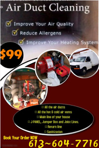 THE MEGA OFFER FOR DUCT CLEANING WITH ALL VENTS JUST $99.99