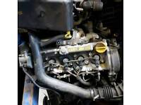 Vauxhall Astra 1.7 CDTi complete engine Mark 4 Mark 5 with warranty