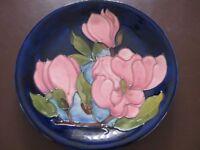 Moorcroft plate magnolia design