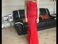 Stunning long red dress from Coast