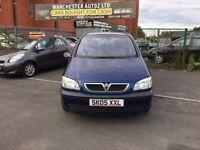 Vauxhall Zafira 1.8 i 16v Life 5dr,automatic, 2 FORMER KEEPER,