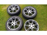 Civic type R alloy wheels