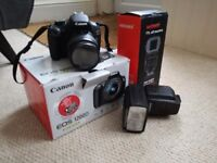 Canon EOS 1200 D Camera and Neewer Flash NW565EX