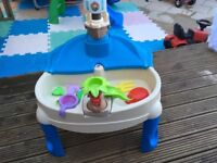 Sand & Water Play Table and Accessories