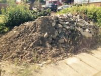 Landfill Rubble Topsoil For Landscape Gardening Projects