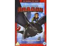 DVD bundle - How to train your Dragon 1&2
