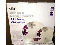 2 x 12pc dinner set £20 - Brand New in box