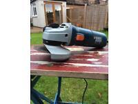 """Black & Decker 4"""" angle grinder"""