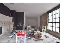 Very Large 1 bed Warehouse Conversion in Shoreditch