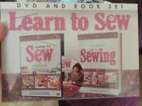 SEWING ~ DVD & Book