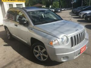 2007 Jeep Compass LIMITED/4WD/AYTO/LEATHER/ROOF/LOADED/ALLOYS