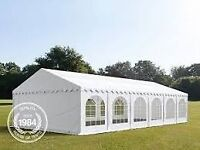 6x12m Do it yourself Marquee for Hire