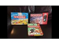 3 children's board games