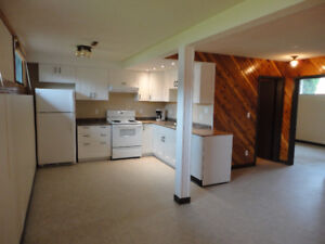 Recently Re-done 1-bedroom suite w/private entry & large windows