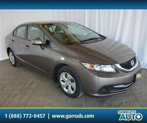 2013 Honda Civic LX/HEATED SEATS/4 NEW TIRES/VOICE COMMAND