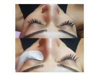 Russian volume lash & classic Individual Mink Eyelash Extensions