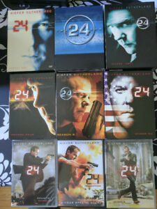 24 Series - Seasons 1-8 & Redemption Special