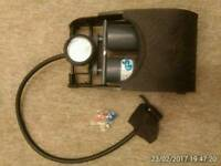 RING DOUBLE BARREL FOOT PUMP - GOOD CONDITION - £7.00 - NO OFFERS