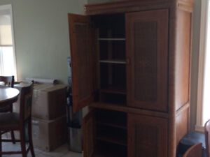 TV/Storage/Bar Cabinet - Wood