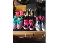 Nike girls trainers size 2