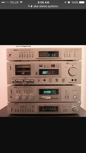 Vintage Stereo System