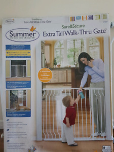 Extra Tall Walk-Thru Gate