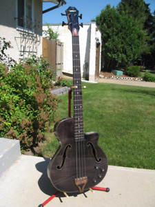 ~ VERY COOL AND RARE EPIPHONE ZENITH BASS FOR SALE~