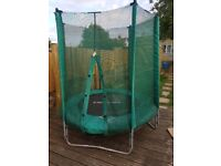 4ft childs trampoline,good condition