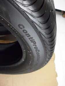 2 Tires195 55 16 Continental Contipro Contact SSR  RSC   87V