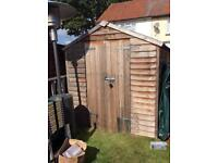 10x6ft Wooden Shed
