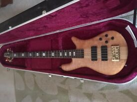 Spector Euro 5 LX with Hiscox Case Bass guitar, may trade