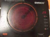Enrico Electric hob with multiple heating mode and timer