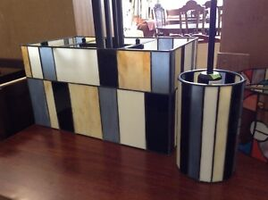 Stained Glass Lights ($75 and $55)