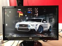 "HP 20"" Lcd Widescreen Monitor"