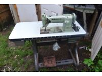 SEIKO COMPOUND NEEDLE FEED WALKING FOOT Industrial Sewing Machine Model STW-8B
