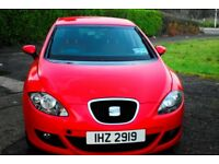 RED SEAT LEON .........FULL YEARS MOT