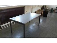 table with metal legs (2 available)