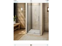 Brand New 1000mm Frameless Pivot Shower Door