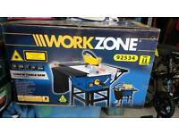 Work zone Table saw. Boxed and unused