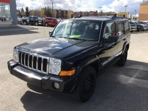2010 Jeep Commander Sport-4WD, LEATHER HEATED SEATS, POWER SUNRO