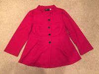 Brand New Red Bob Mackie Jacket Size Medium Dropped to £2