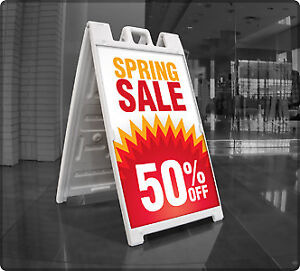 Fastrack Graphics - A - Frame / Sandwich Board Promotion