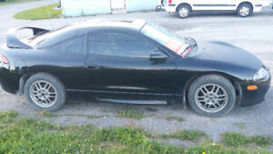 1999 Mitsubishi Eclipse Coupe (2 door)