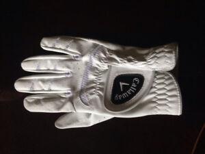 Ladies Callaway golf glove lefthand